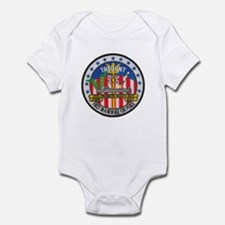 USS FRANCIS SCOTT KEY Infant Bodysuit