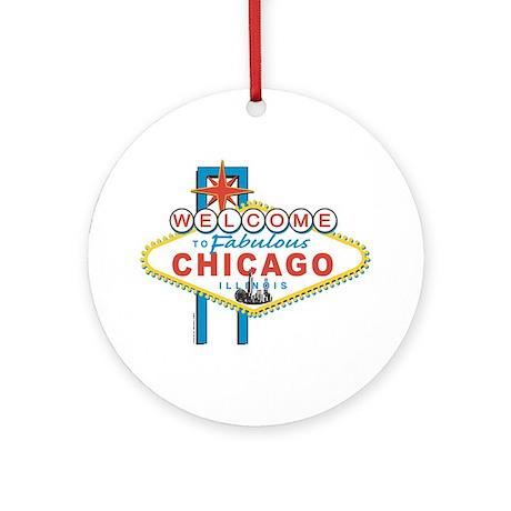 Fabulous Chicago Ornament (Round)
