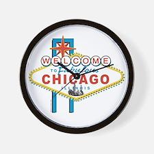 Fabulous Chicago Wall Clock