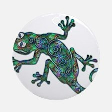 Decorative Chameleon Ornament (Round)