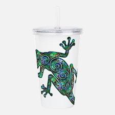 Decorative Chameleon Acrylic Double-wall Tumbler