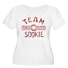 Team Sookie True Blood Plus Size T-Shirt