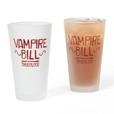 True Blood Vampire Bill Drinking Glass