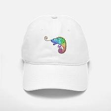Cool Colored Chameleon Baseball Baseball Cap