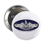 """PRD Dolphins 2.25"""" Button (100 pack)"""