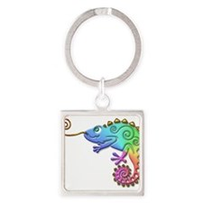Cool Colored Chameleon Keychains