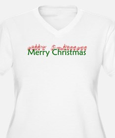 Merry Christmas Plus Size T-Shirt