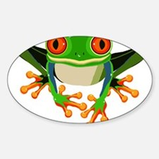 Colorful Tree Frog Decal