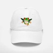 Colorful Tree Frog Baseball Baseball Cap