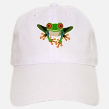 Colorful Tree Frog Cap