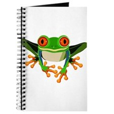 Colorful Tree Frog Journal