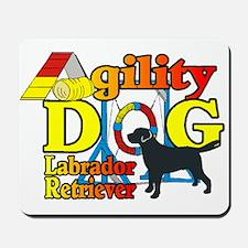Labrador Retriever Agility Mousepad