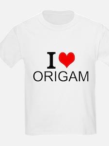 I Love Origami T-Shirt