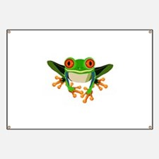 Colorful Tree Frog Banner