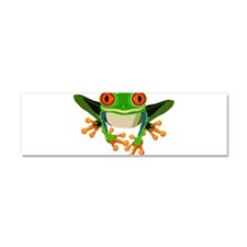 Colorful Tree Frog Car Magnet 10 x 3