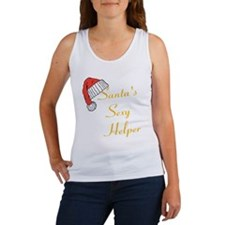 Santas Sexy Helper Tank Top