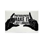 Photographers Make It Last Lo Rectangle Magnet (10