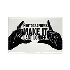 Photographers Make It Last Lo Rectangle Magnet