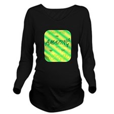 Worlds Most - Babe.p Long Sleeve Maternity T-Shirt