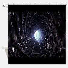 event horizons Shower Curtain