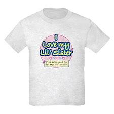 Lil' Sister - Pink T-Shirt