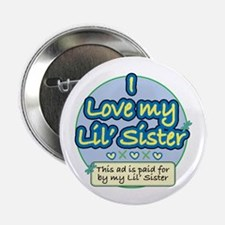 Lil' Sister - Blue Button