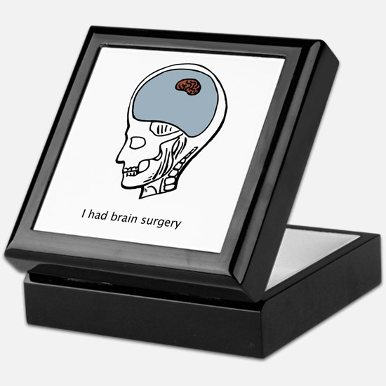 I had brain surgery Keepsake Box