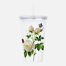 Redoute Roses016.png Acrylic Double-wall Tumbler