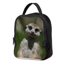 Meerkat004 Neoprene Lunch Bag
