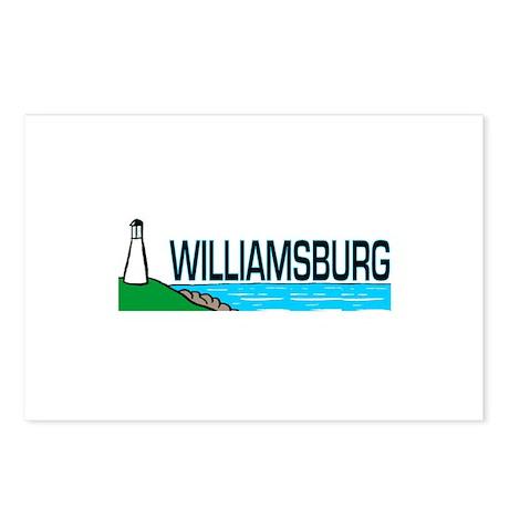 Williamsburg, Virginia Postcards (Package of 8)