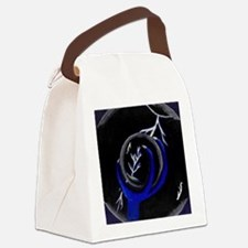 Dragon holding Crystal Ball Canvas Lunch Bag