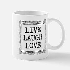 Cute Inspirational Live Laugh Love Mugs