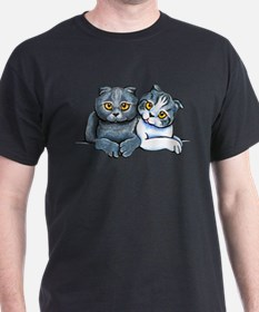 Scottish Fold Pair T-Shirt