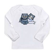 Scottish Fold Pair Long Sleeve T-Shirt