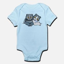 Scottish Fold Pair Body Suit
