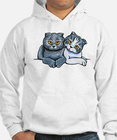 Scottish Fold Pair Hoodie