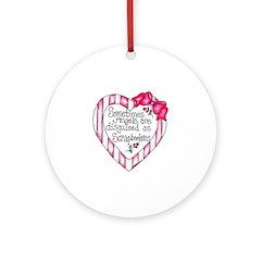 Angel Scrapbooker Ornament (Round)