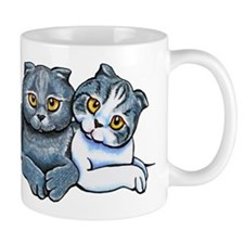 Scottish Fold Pair Mugs