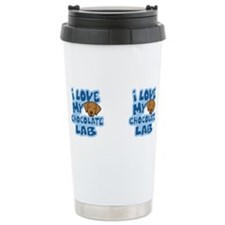 Cute I love my labrador Travel Mug