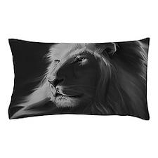 Lion - Gray Pillow Case