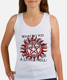 SUPERNATURAL WHAT DO YOU SAY Tank Top