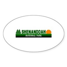 Shenandoah National Park Oval Decal