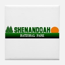 Shenandoah National Park Tile Coaster