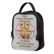 SUPERNATURAL TEDDY BEAR Neoprene Lunch Bag