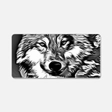 Wolf 2014-0802 Aluminum License Plate