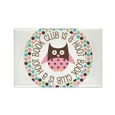 Funny Book club Rectangle Magnet