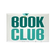 Cute Book club Rectangle Magnet