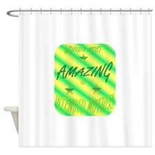Worlds Most - IM.png Shower Curtain