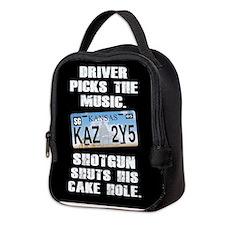 SUPERNATURAL DRIVER PICKS MUSIC Neoprene Lunch Bag