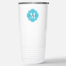 Turquoise Custom Person Stainless Steel Travel Mug